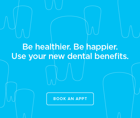 Be Heathier, Be Happier. Use your new dental benefits. - Erie Modern Dentistry